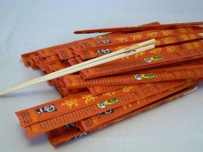Personalised laser engraved wooden chopsticks